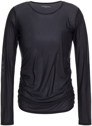 Lanston Aiden Ruched Jersey Top