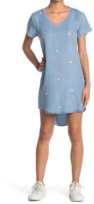 Velvet Heart Polka Dot V-Neck Dress