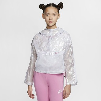 Nike Big Kids (Girls) Jacket Sportswear Tech Pack