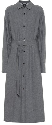 Joseph Dicha wool and silk shirt dress