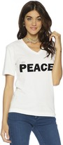 Peace Love World I am Peace V-Neck Tee