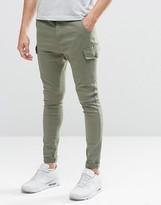 Siksilk Super Skinny Cargo Jeans