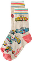 Cath Kidston Fast Cars Day Socks