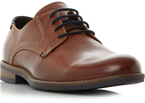Dune Barlow Derby Leather Shoes, Tan