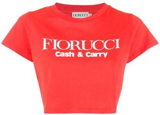 Fiorucci logo cropped T-Shirt