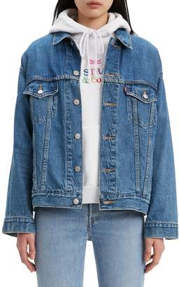 Levi's Bridging The Gap Dad Denim Trucker Jacket