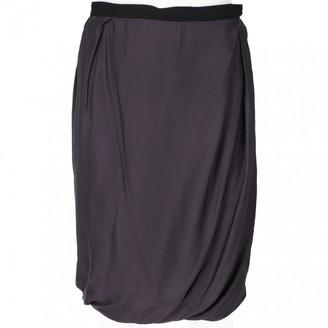 Lanvin Grey Skirt for Women