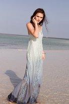 Kimchi & Blue Kimchi Blue Beyond The Sea Lace-Inset Maxi Dress