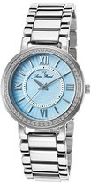 Lucien Piccard Women's LP-11902-TURMOP Alice Stainless Steel Bracelet Watch