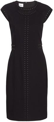 Akris Punto Luna Studded Cutout Dress