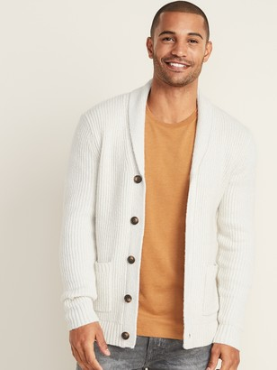 Old Navy Thick-Textured Shawl-Collar Cardigan for Men