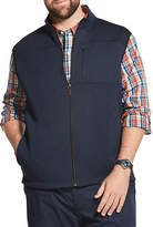 Izod Big and Tall Premium Essentials Sweater Fleece Vest