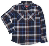 Butter Shoes Girls 7-16) Flannel Patch Shirt