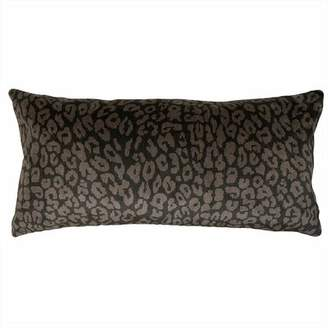 "Square Feathers Bengal Exotic Pillow Size: 12"" x 24"""
