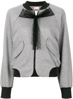 RED Valentino bow detail bomber jacket