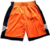 SnoKKe Men's Basketball Shorts Orange M