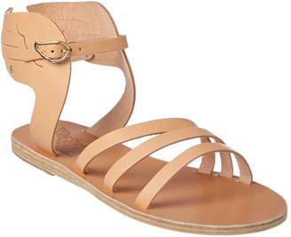 Ancient Greek Sandals Ikaria Wing Leather Sandal