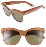 Givenchy Women's 55Mm Retro Sunglasses - Blue