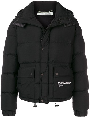 Off-White Short Padded Jacket
