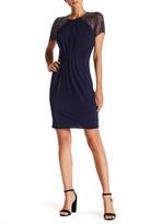 JS Boutique Beaded Short Sleeve Dress