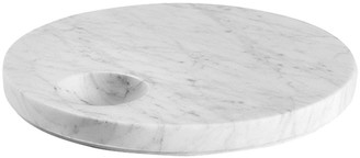 Salvatori Ellipse Carrara Marble Tray