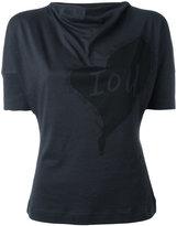 Vivienne Westwood heart print T-shirt - women - Cotton - M
