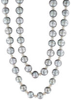 Effy 9MM White & Gray Pearl Necklace