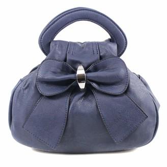 Yourdezire Bow Style Grab Handbag-Black-Small