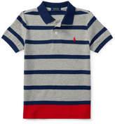Polo Ralph Lauren Striped Cotton Mesh Polo Shirt(2-7 Years)