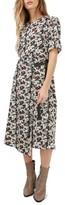 Topshop Women's Floral Midi Dress