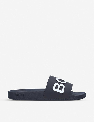 HUGO BOSS Coral logo sliders