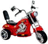 Red Rocking Three Wheel Chopper Motorcycle
