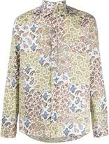 Etro patchwork paisley-print shirt