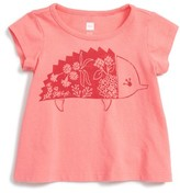 Tea Collection Infant Girl's Echidna Graphic Tee