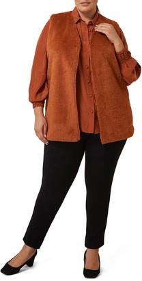 Marée Pour Toi Faux Fur Vest (Plus Size)