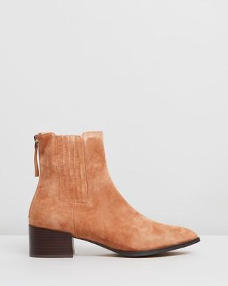 Mollini Deka Suede Ankle Boots
