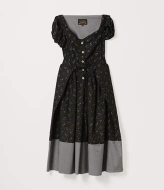 Vivienne Westwood Short Sleeve Saturday Dress Floral