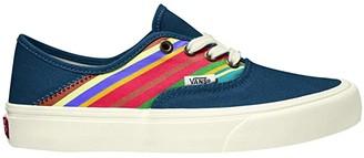Vans Authentic SF ((Retro Stripes) Dress Blues) Lace up casual Shoes