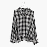 Madewell Highroad Popover Shirt in Clarksburg Plaid