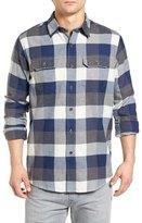 Tailor Vintage Buffalo Plaid Flannel Sport Shirt