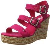 Tommy Hilfiger Women's L1385una 3d1 Wedge Heels Sandals