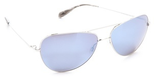 Oliver Peoples Mirrored Pryce Sunglasses
