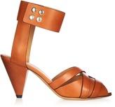 Isabel Marant Mavis cone-heel leather sandals