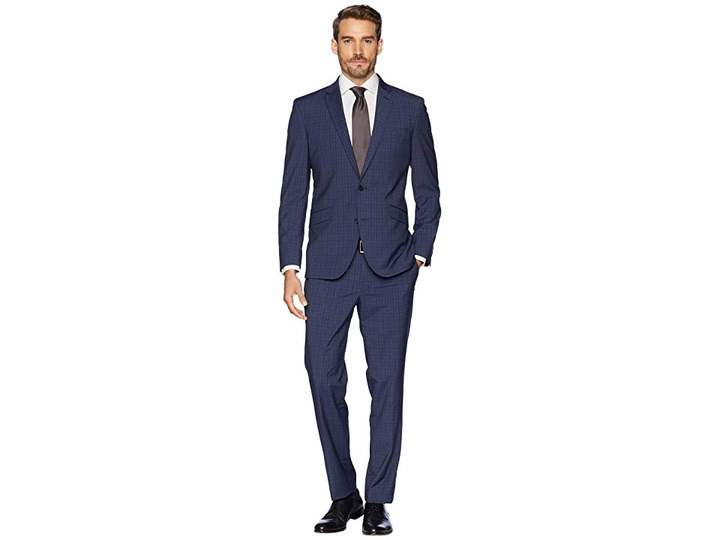 Kenneth Cole Reaction Slim Fit Stretch Performance 32 Finished Bottom Suit