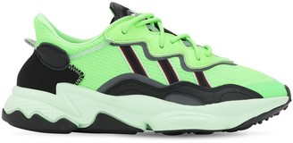 adidas Oz Prene Mesh & Suede Sneakers