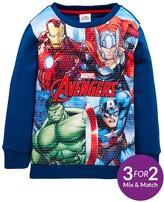 Marvel Avengers Boys Sweat Top