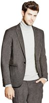 GUESS Dunn Skinny Tweed Blazer