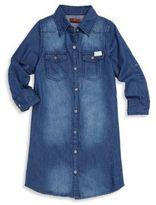 7 For All Mankind Girl's Denim Shirtdress