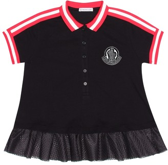 Moncler Enfant Stretch-cotton dress