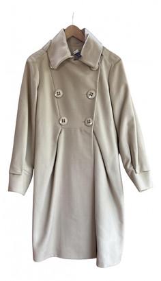 Hoss Intropia Beige Wool Coats